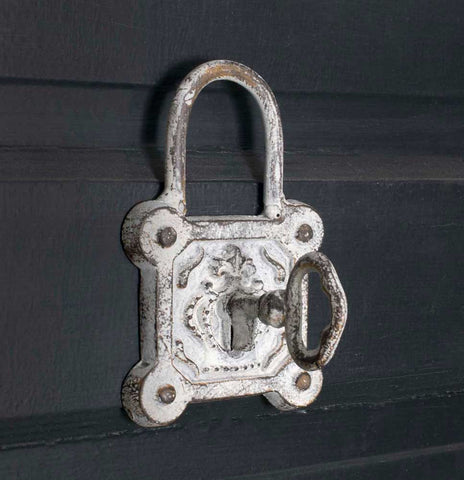Shabby Chic Vintage Square Lock Hook - Set Of 4 - *FREE SHIPPING*