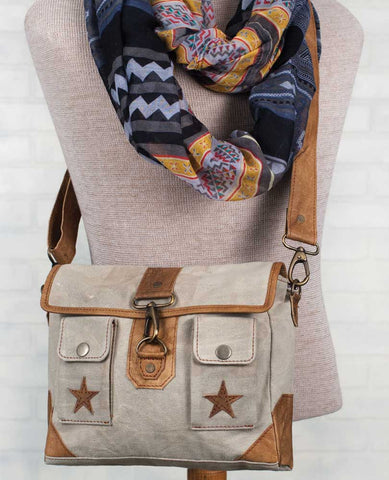 Stars Satchel with Dividers - *FREE SHIPPING*
