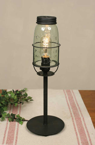 Tall Mason Jar Desk Lamp - *FREE SHIPPING*