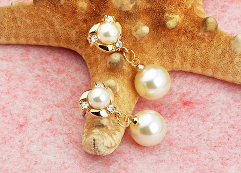 Pearl Tassels Earrings - Very Fashionable -  *FREE SHIPPING*