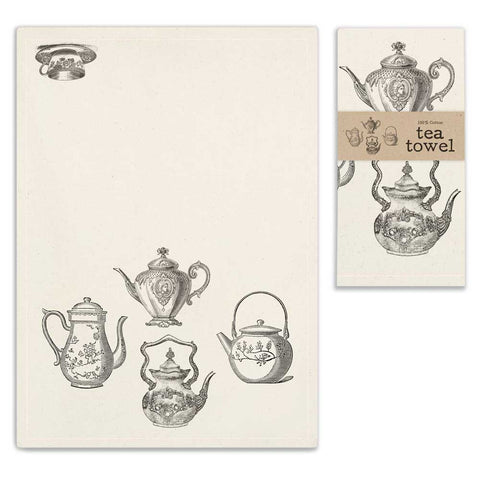 Tea Service Tea Towel - SET OF 4 - *FREE SHIPPING*