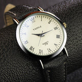Top Brand Luxury Blue Glass YAZOLE Watch Men Watch Fashion Roman Quartz Watch Waterproof Business Wristwatches Hour reloj hombre