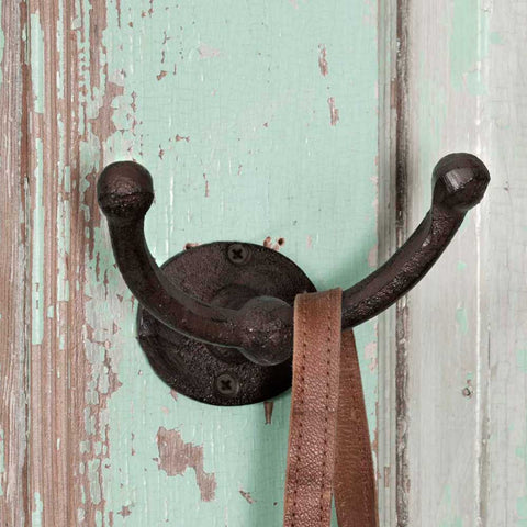 Two Arm Wall Hook - SET OF 6 - *FREE SHIPPING*