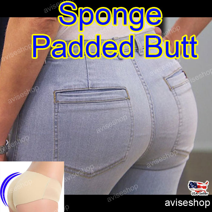 Women Big Butt Pretty Booty Padded Seamless Butt Hip Enhancer Bottom Underwear Bum Shaper