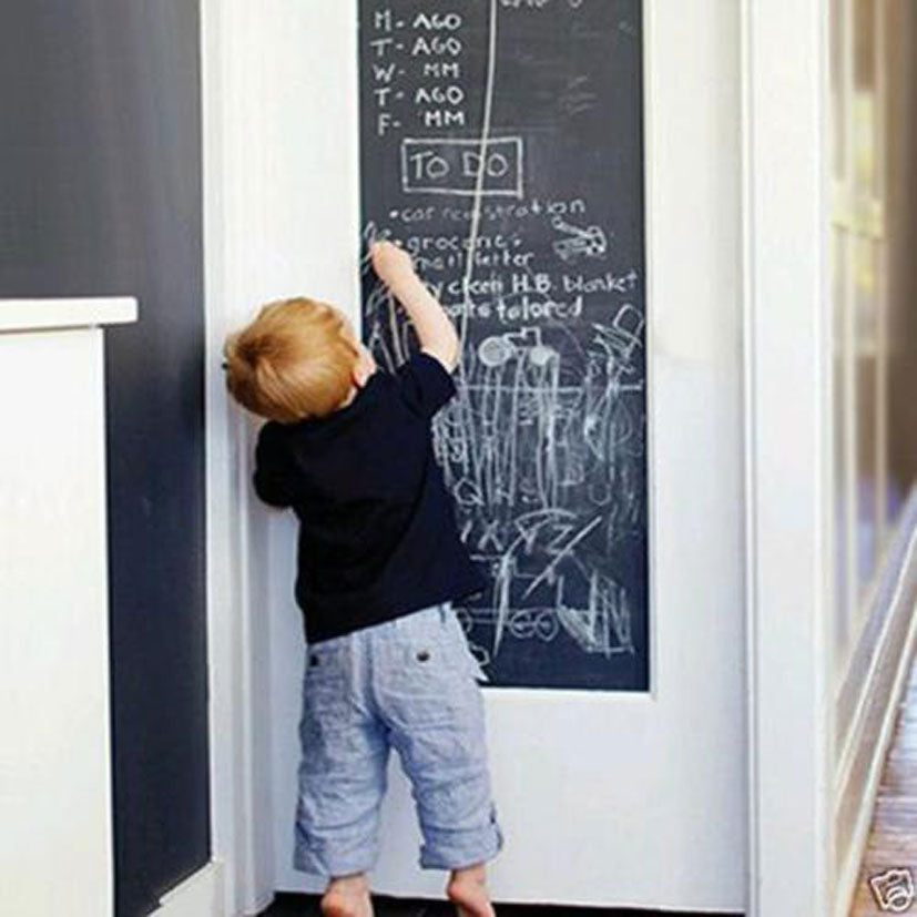 Chalk Board Blackboard Removable Vinyl Wall Sticker Decal Chalkboard