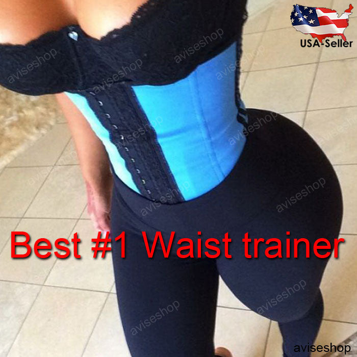 b6f7a02a4dd49 Bodysuit Women Waist Trainer Slimming Shapewear Training Corsets Cincher  Body Shaper Bustier