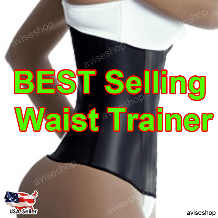 Underbust Corset Waist Trainer Cincher Girdle Sport Body Shaper Workout