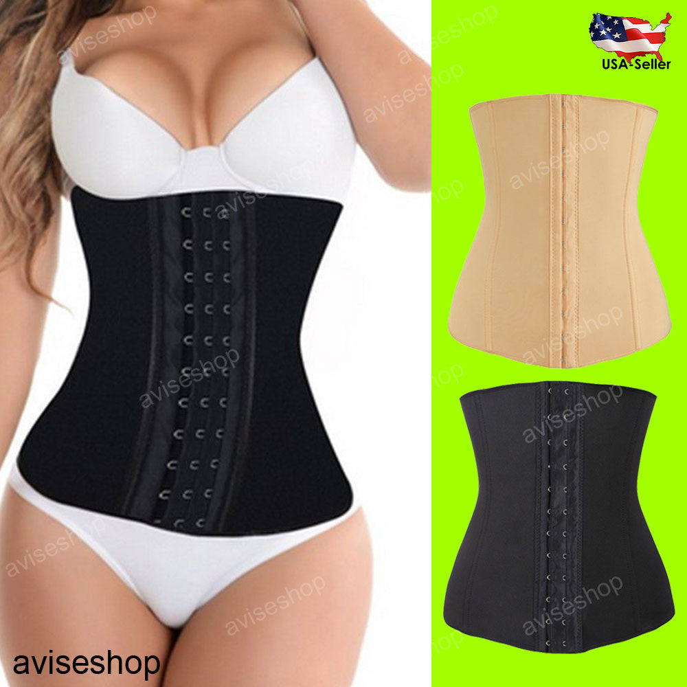 Women Body Shaper slim Waist Trainer Cincher Underbust Corset Shapewear