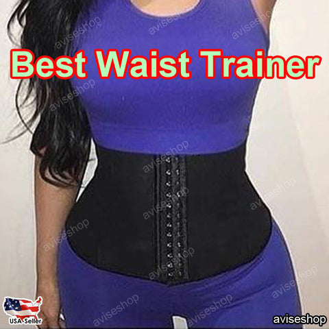 #1 BEST Waist Trainer Slimming Shapewear Training Corsets Cincher Body Shaper Bustier