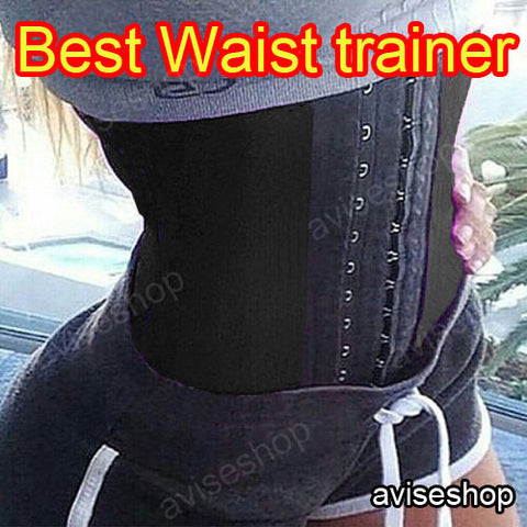 Women Body Shaper Tummy Training Slim Waist Trainer Cincher Underbust Belt