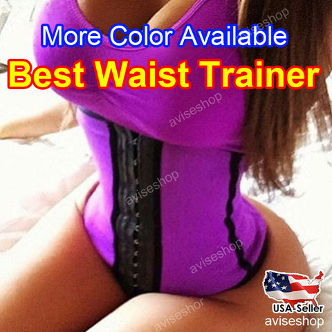 #1 New Underbust Waist Trainer Cincher Corset Girdle Workout Belt Shaper Top