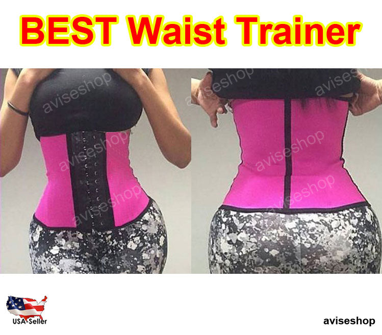 f1518c04545d1 Diet Workout exercise Underbust Waist Trainer Cincher Corset Girdle Workout  Tummy Belt Shaper Top