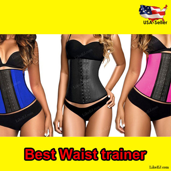 Top #1 Waist Trainer Training Corsets Hot Shapers Body Shaper Waist Cincher Workout