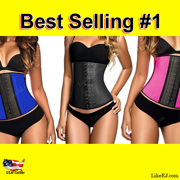 Body Shaper Waist Trainer Sport Workout Wear Corset Cincher