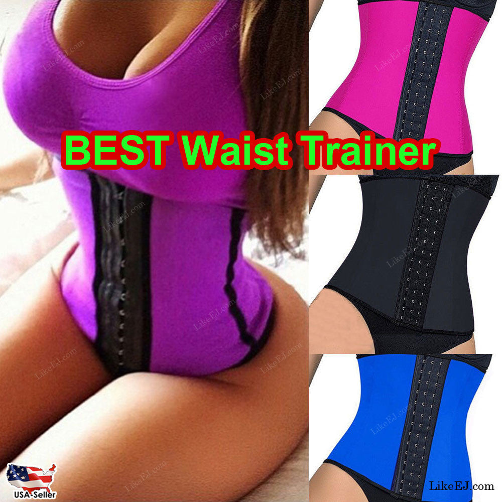 Women Body Shaper Waist Trainer Cincher Yoga Workout Wear Corset