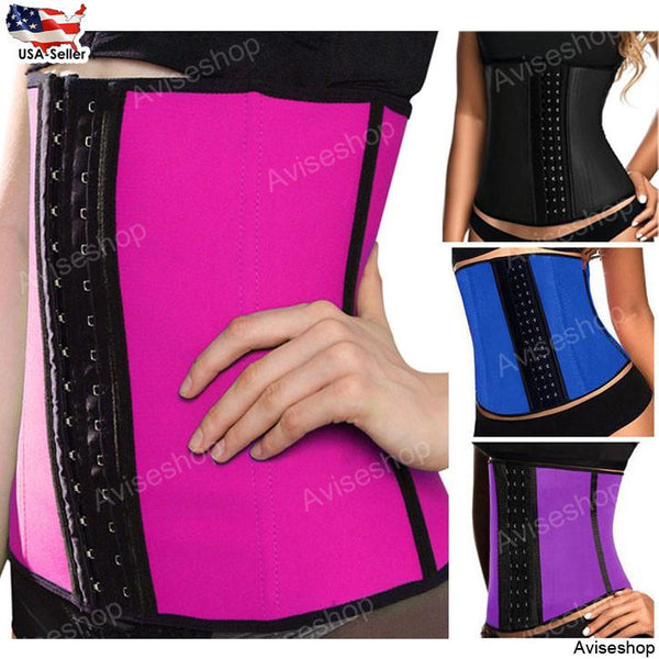 New Best Underbust Waist Trainer Cincher Corset Girdle Workout Belt Shaper Top