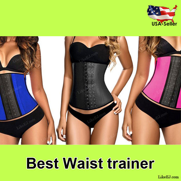 Best Women Body Shaper Waist Trainer Cincher Underbust Corset Slimming Belt