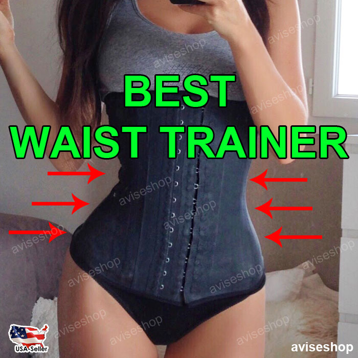 f07196b376552 Waist Trainer Slimming Shapewear Training Corsets Cincher Body Shaper  Workout Belt