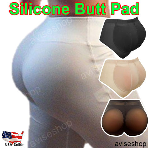 Big Booty Hip up Silicone Buttocks Pads Butt Enhancer body Shaper Panty Tummy Control Set