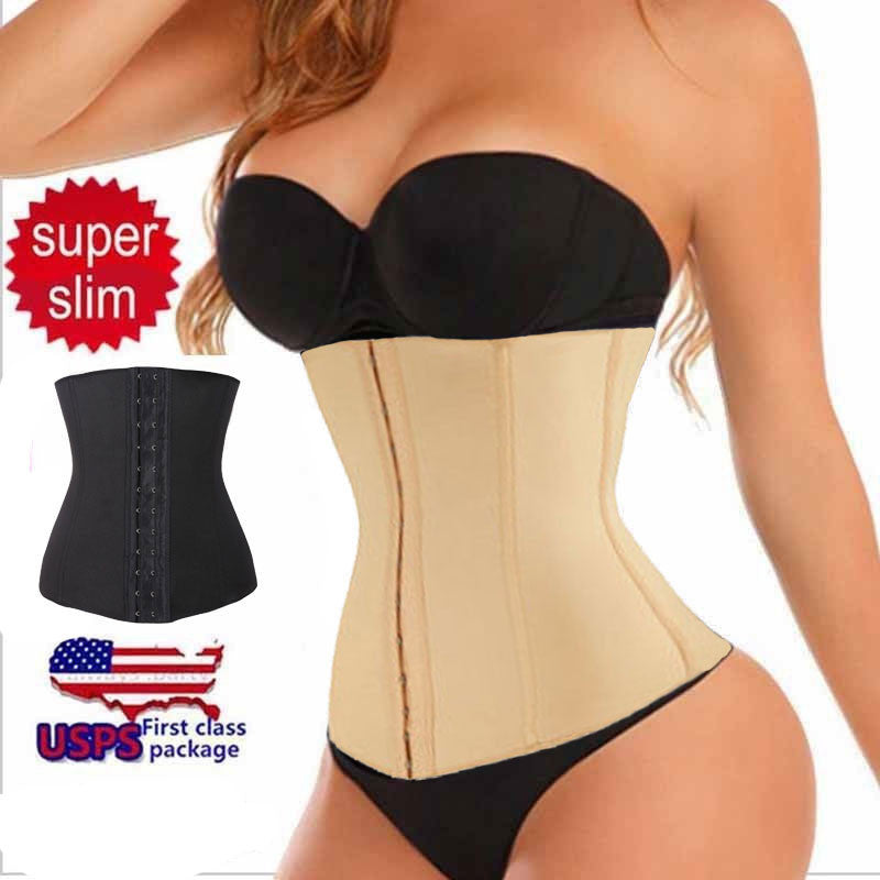 Good Quality Women Waist Trainer Slimming Shapewear Training Corsets Cincher Body Shaper Bustier