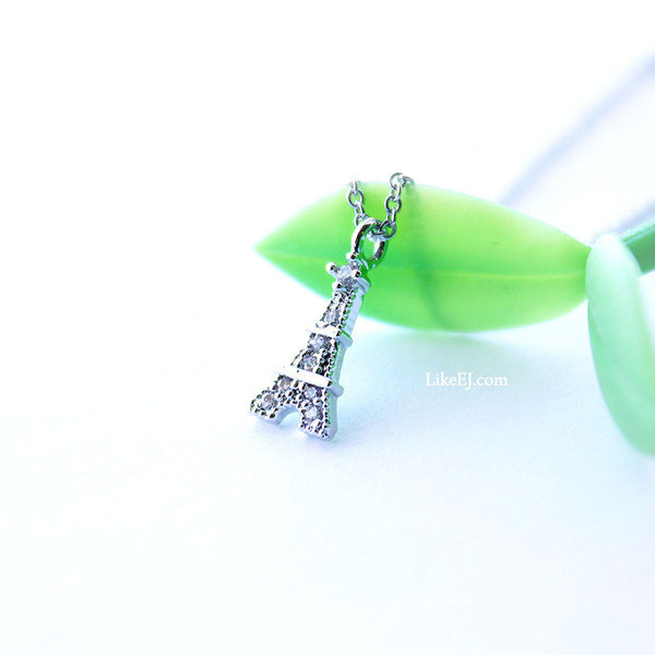 Eiffel Tower Necklace - LikeEJ - 1