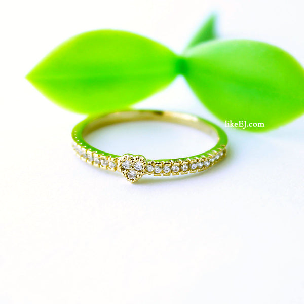 Tiny Sweet Heart Ring - LikeEJ - 1