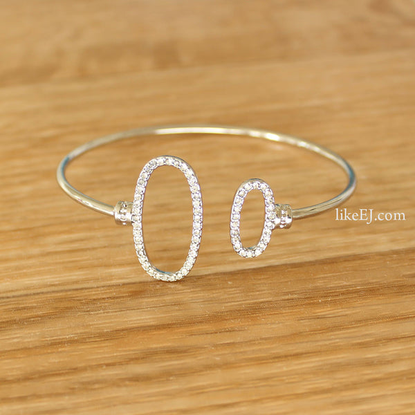 Gorgeous Open Circle Bracelet - LikeEJ - 1