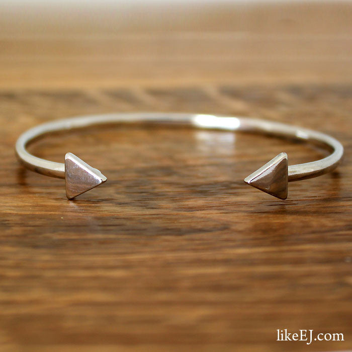 Double Triangle Bangle - LikeEJ - 1