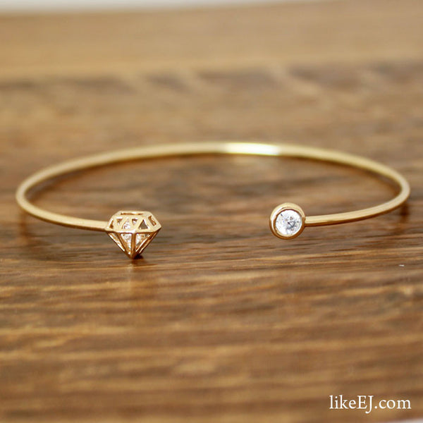 Diamond Shape Bracelet - LikeEJ - 1