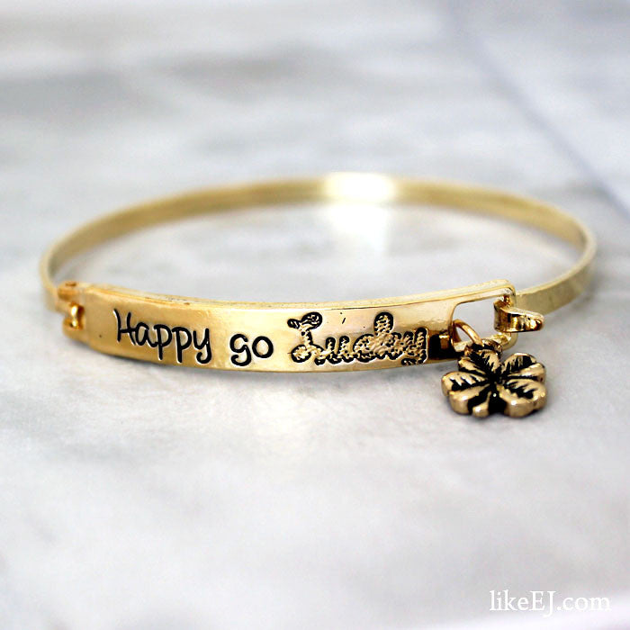 Happy Go Lucky Bracelet - LikeEJ - 1
