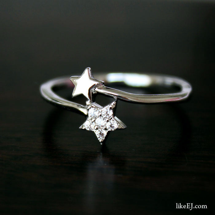 Double Star Ring - LikeEJ - 1