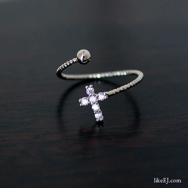 Open Cross Ring - LikeEJ - 1