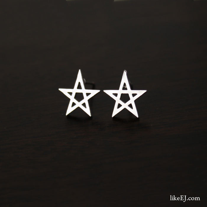 Simple Star Stud Earring - LikeEJ - 1