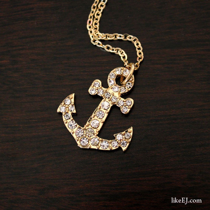 Anchor Necklace - LikeEJ - 1