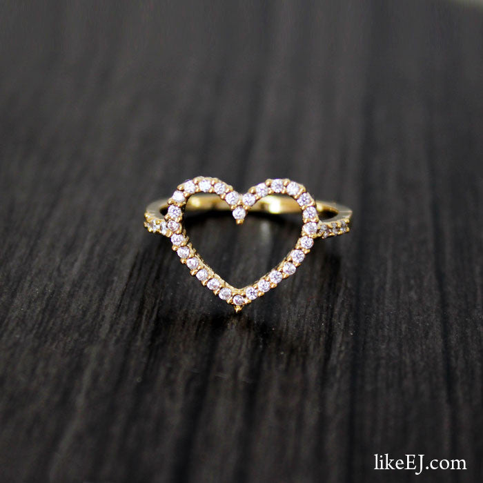 Super Heart Ring - LikeEJ - 1