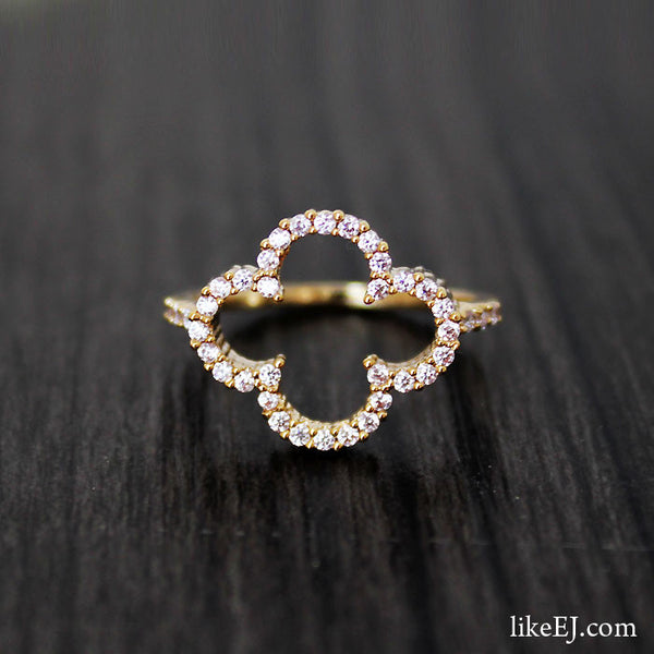 Big Clover Ring - LikeEJ - 1