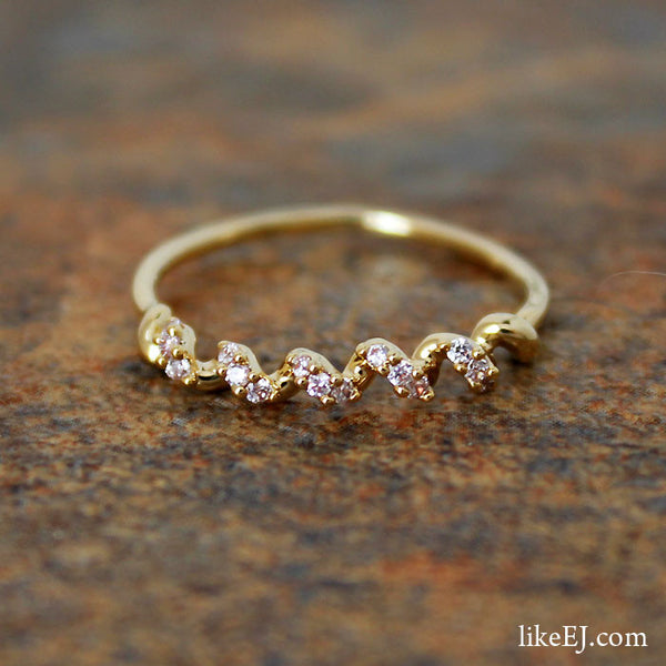 Crystal Spin Ring - LikeEJ - 1