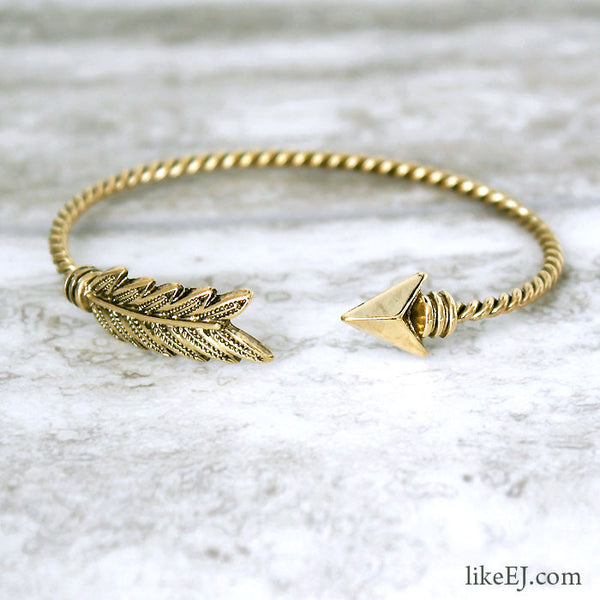 Antique Arrow Bangle - LikeEJ - 1