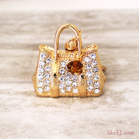 Luxury Gold Bag