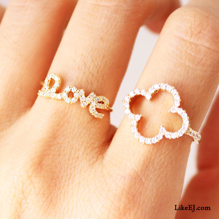 Big Clover Ring - LikeEJ - 3