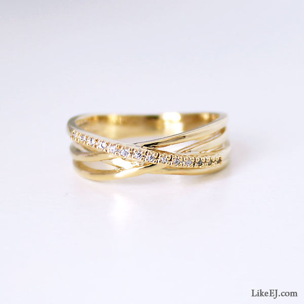 Luxury Layerd Ring - LikeEJ