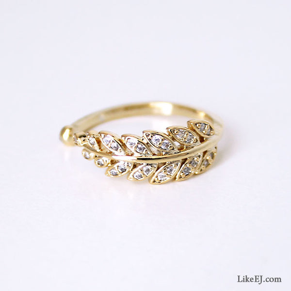 Bay Leaf Ring - LikeEJ - 1