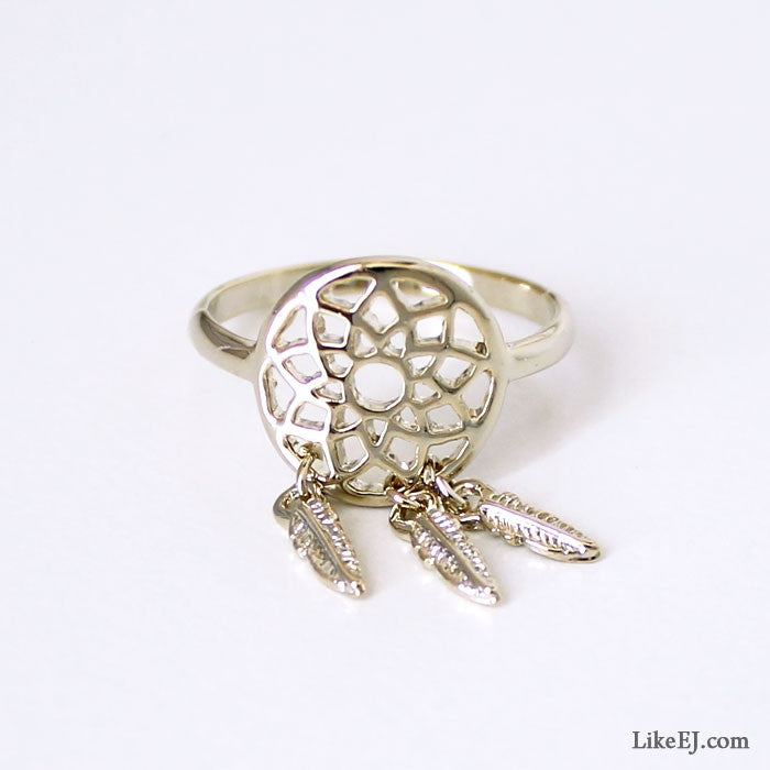 Dreamcatcher Ring - LikeEJ - 1