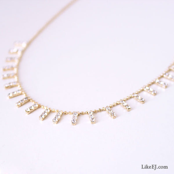 Mini Bar Necklace - LikeEJ
