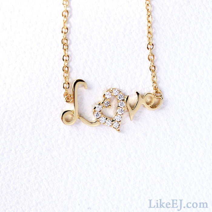 Love Letter Necklace - LikeEJ - 1