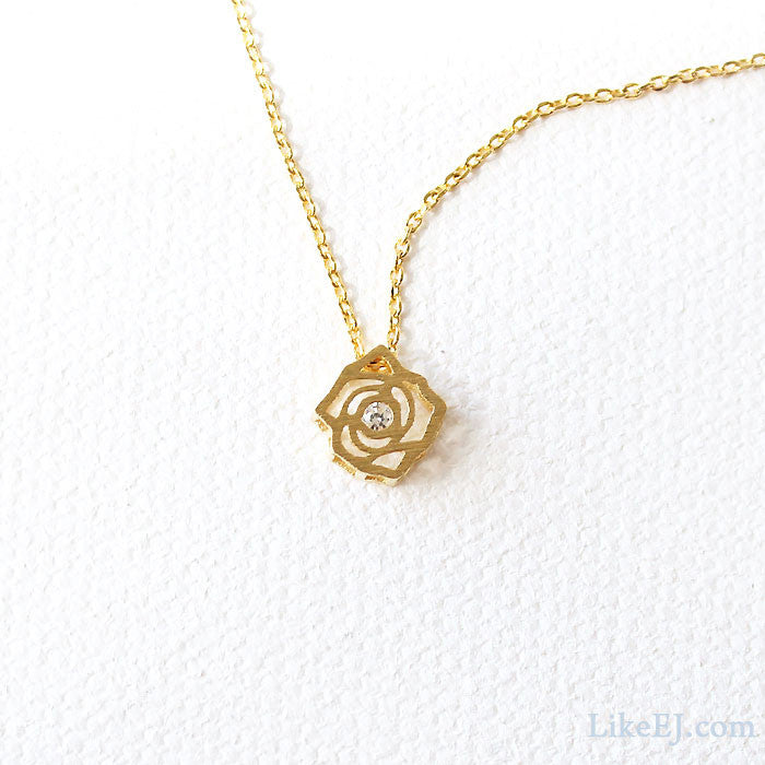 Rose Necklace - LikeEJ - 1