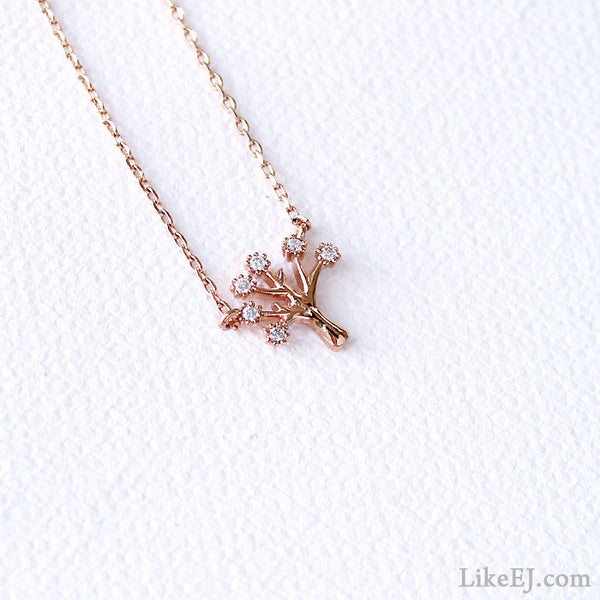 Mini Tree Necklace - LikeEJ - 1