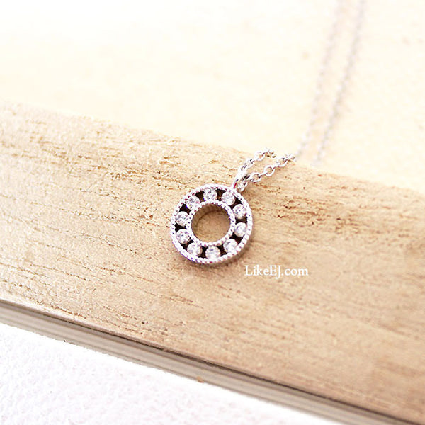 Stunning Halo Necklace - LikeEJ - 1