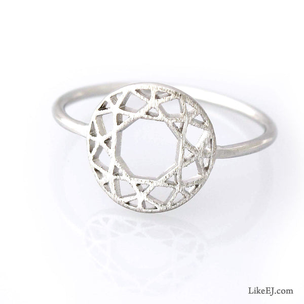 Fantastic Circle Ring - LikeEJ - 1
