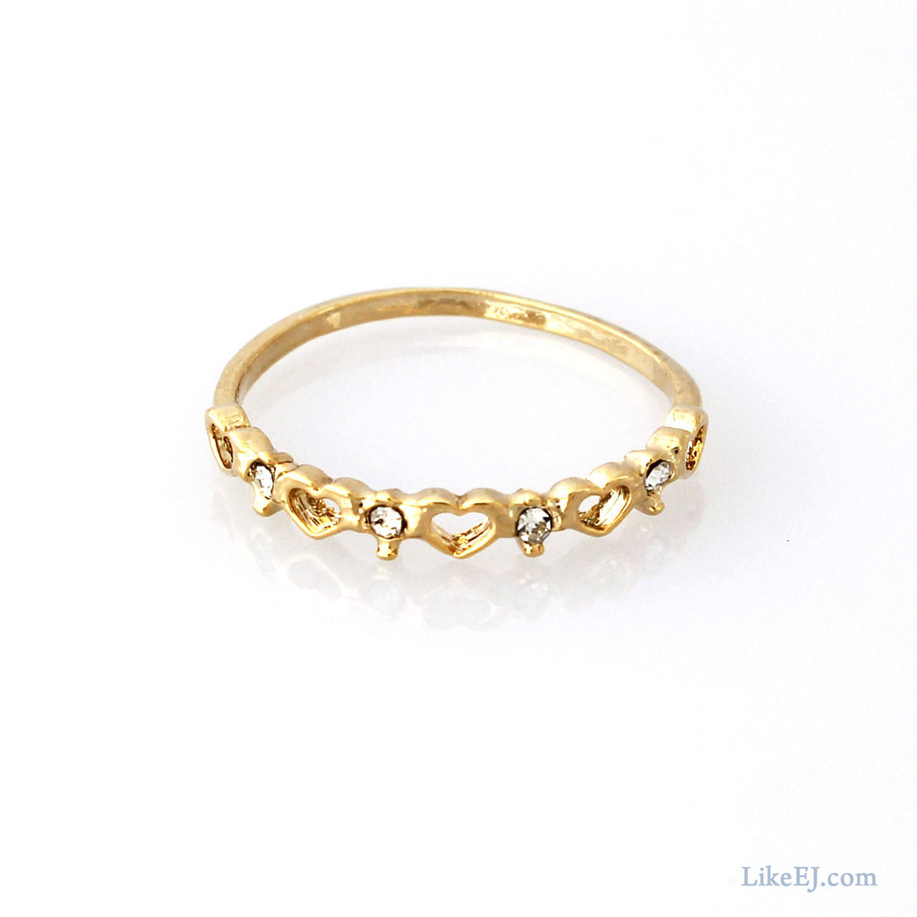 Mix Heart Ring - LikeEJ